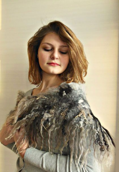 Видео-урок Татьяны Хохловой: Дикие шарфы
