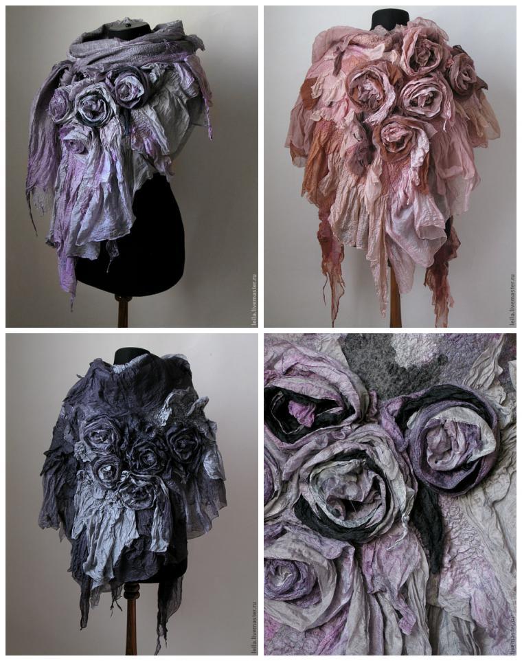 Видео-урок Лейлы Абдуллаевой: Бактус с розами